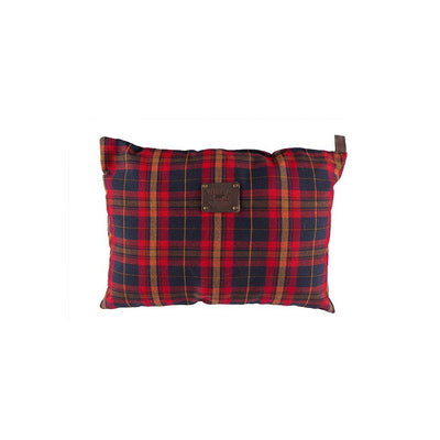 Will Eco Pillow Pillow WillLeatherGoods Plaid/Brown