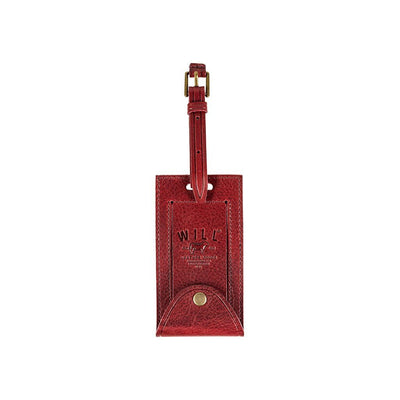 William Luggage Tag Luggage Tag WillLeatherGoods Wine