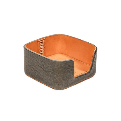 Business Card Holder Office WillLeatherGoods Grey