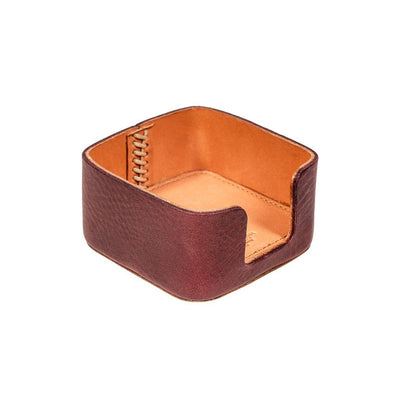 Business Card Holder Office WillLeatherGoods Oxblood