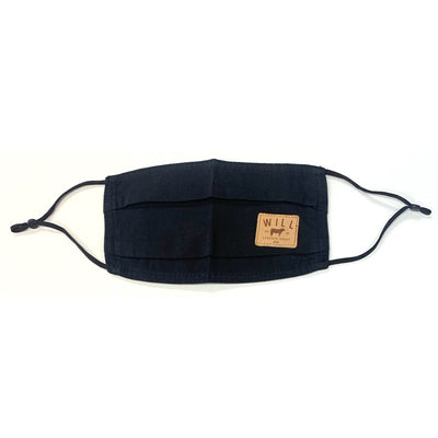 Face Mask - Individual Clothing WillLeatherGoods Black One Size