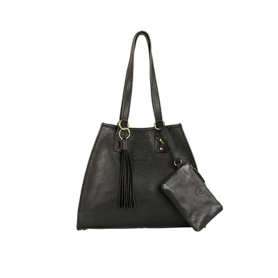 Leather Artisan Tote - FINAL SALE Will Leather Goods Black