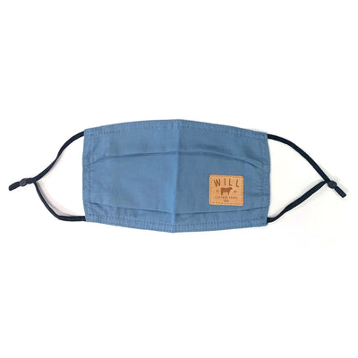 Face Mask - Individual Clothing WillLeatherGoods Blue One Size