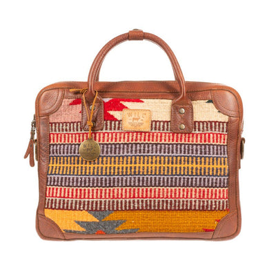Oaxacan Briefcase Messenger WillLeatherGoods LAST CHANCE 266 Final Sale