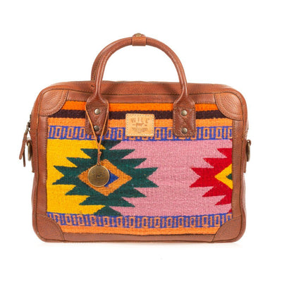 Oaxacan Briefcase Messenger WillLeatherGoods LAST CHANCE 269 Final Sale
