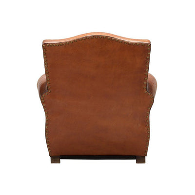 Vintage French Club Chair Home WillLeatherGoods