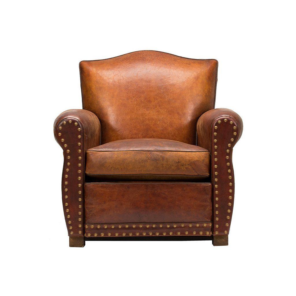oversized overstock knight brown by leather today christopher garden free product tafton home club tufted chair shipping