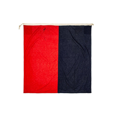 Large Vintage Nautical Flag Antique WillLeatherGoods 20