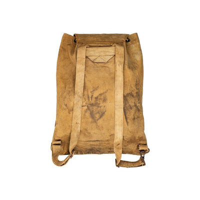 US 1900s Military Backpack Antique WillLeatherGoods