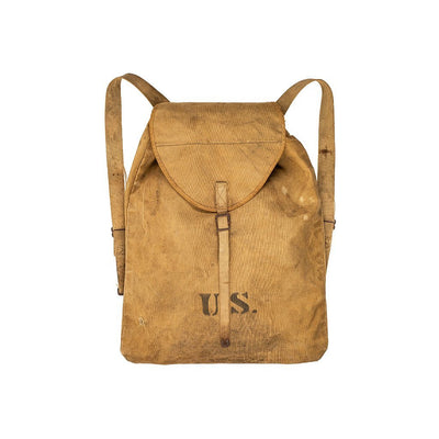 US 1900s Military Backpack Antique WillLeatherGoods 1
