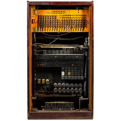 Operator Switchboard Antique WillLeatherGoods