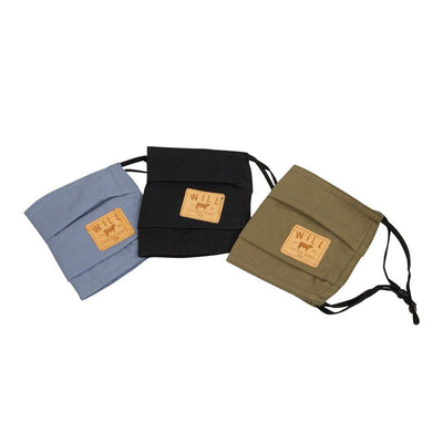 Face Mask - 3 Pack Clothing WillLeatherGoods