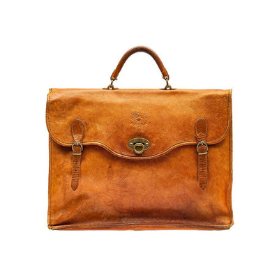 Relaxed Briefcase Antique WillLeatherGoods 1