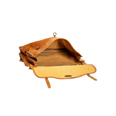 Relaxed Briefcase Antique WillLeatherGoods