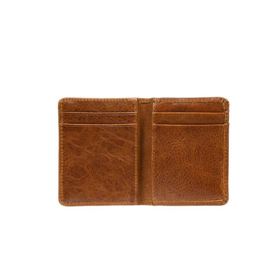 Leather Front Pocket Wallet With Money Clip Wallet WillLeatherGoods