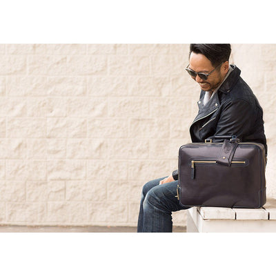 The Continental Briefcase William Bag WillLeatherGoods WILLIAM