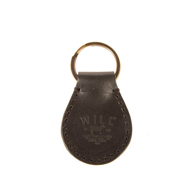 Toulousse Drop Keychain Keychain WillLeatherGoods Black