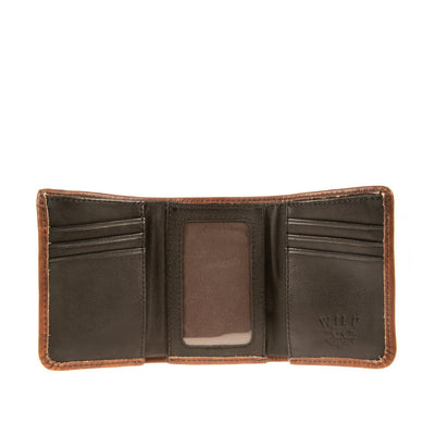 Leather Trifold Wallet WillLeatherGoods