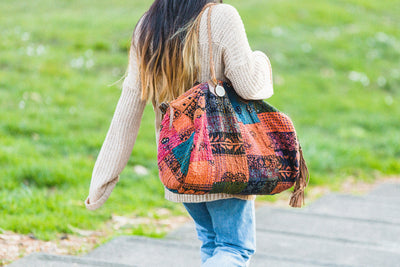 Kantha Quilted Duffle