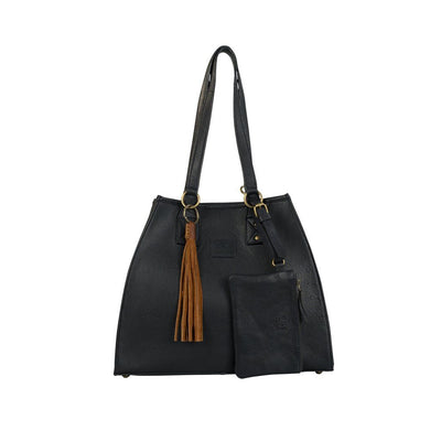 Leather Artisan Tote - FINAL SALE Will Leather Goods Navy