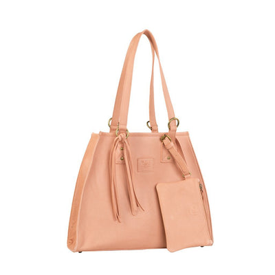 Leather Artisan Tote - FINAL SALE Will Leather Goods Blush