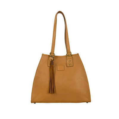Leather Artisan Tote - FINAL SALE Will Leather Goods Tan