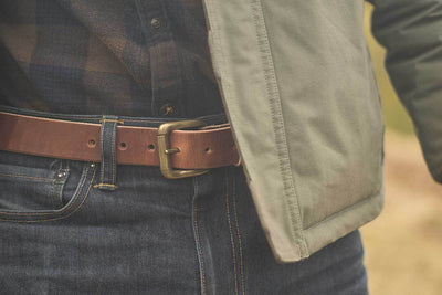 classic saddle belt, made in USA belt, mens belt, unisex belt