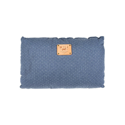 Chambray Pindot Travel Pillow