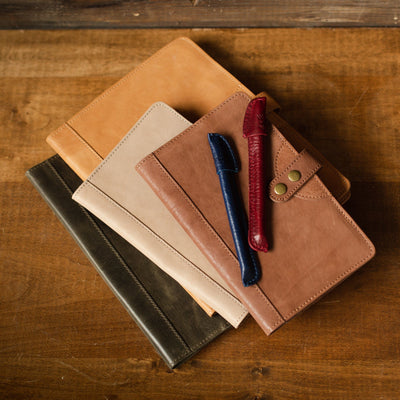 Leather Pens Office WillLeatherGoods
