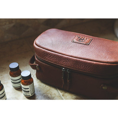 Leather Desmond Travel Kit Travel Kit WillLeatherGoods