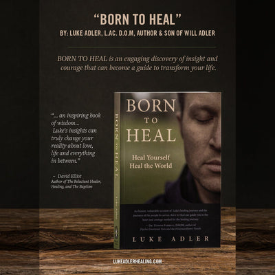Book: Born to Heal Home WillLeatherGoods