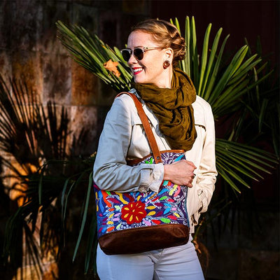 Otomi Animales Tote Tote WillLeatherGoods