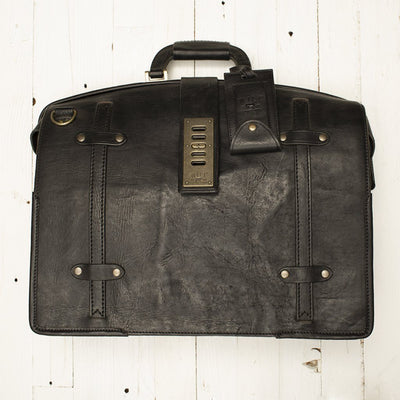 The Counsel Bag -- Worn William Bag WORN WillLeatherGoods WORN 18 Final Sale