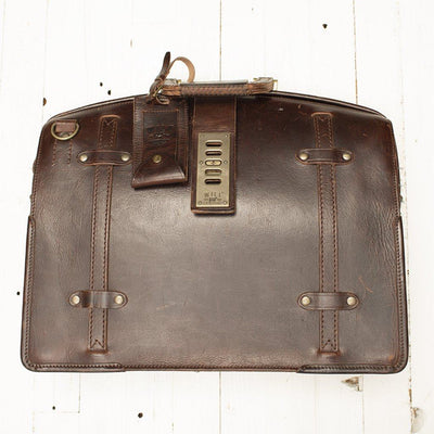The Counsel Bag -- Worn William Bag WORN WillLeatherGoods WORN 20 Final Sale