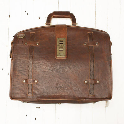 The Counsel Bag -- Worn William Bag WORN WillLeatherGoods WORN 21 Final Sale