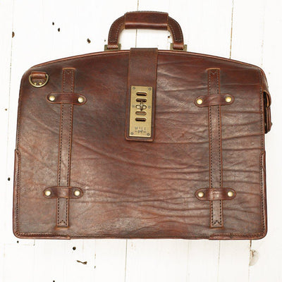 The Counsel Bag -- Worn William Bag WORN WillLeatherGoods WORN 23 Final Sale