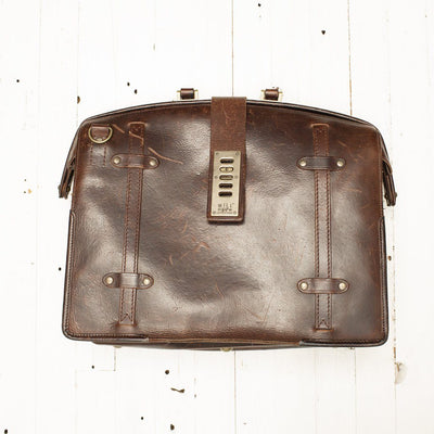 The Counsel Bag -- Worn William Bag WORN WillLeatherGoods WORN 24 Final Sale