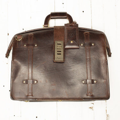The Counsel Bag -- Worn William Bag WORN WillLeatherGoods WORN 25 Final Sale
