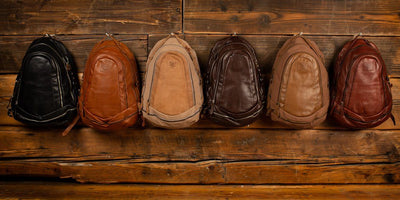 STOCKHOLM - All Weather Leather Zip Backpack - PRESALE Backpack Monreaux