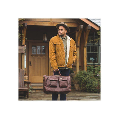 Leather Traveler Duffle