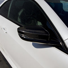 Carbon Fiber Mirror Covers (CTS-V3)