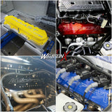 WEAPON-X LT4 Billet Valve Covers - CUSTOMIZABLE OPTIONS! (CTS-V3)