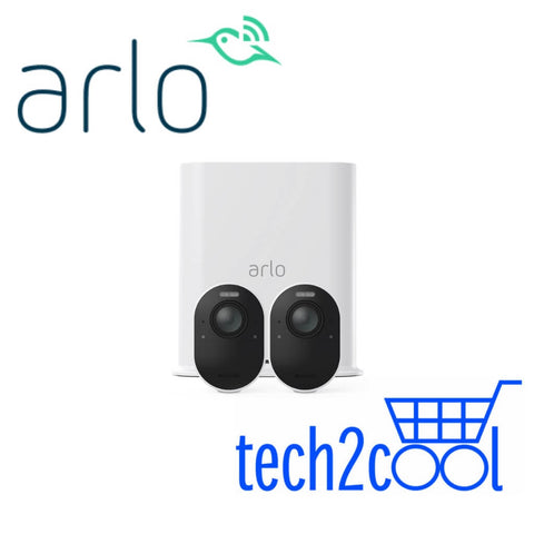 Arlo Ultra VMS5240 4K UHD Wire-Free Security System with 2 Cameras