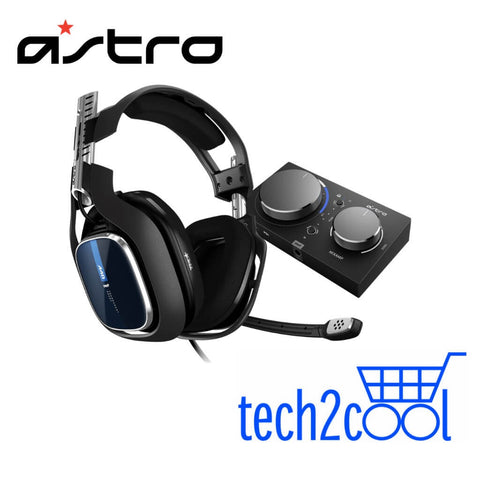 Astro A40 TR Gaming Headset Plus MixAmp Pro TR for PS4, PC and Mac