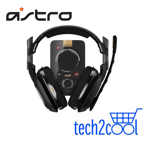 Astro A40 TR Black Gaming Headset Plus MixAmp Pro TR for PC, Mac, Xbox One and Switch