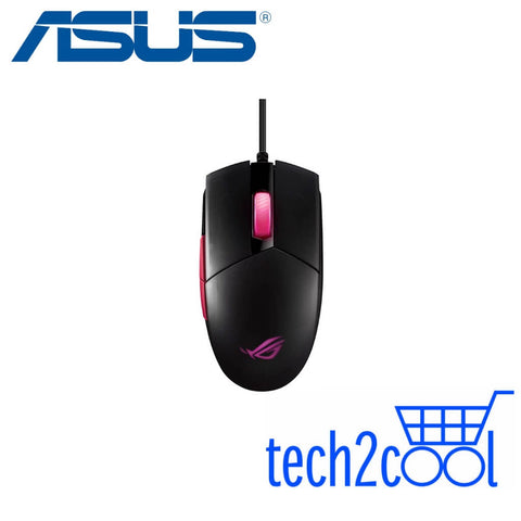 Asus ROG Strix Impact II Electro Punk Ambidextrous Wired Gaming Mouse