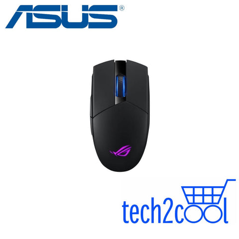 Asus ROG Strix Impact II Ambidextrous Optical Wireless Gaming Mouse