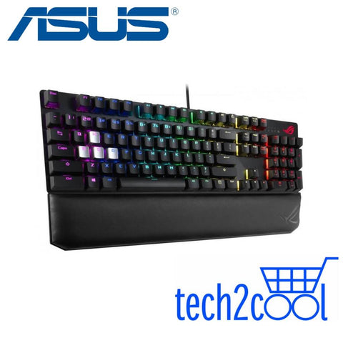 Asus ROG Strix Scope Deluxe Cherry MX Blue Switch RGB Wired Mechanical Gaming Keyboard