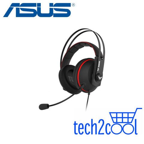 Asus TUF Gaming H7 Core Red Wired Gaming Headset for PC and PS4