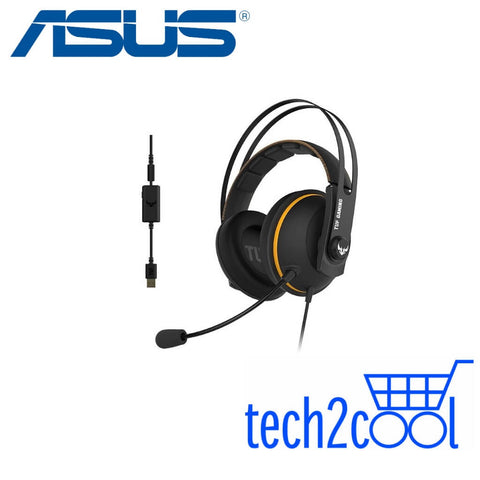 Asus TUF Gaming H7 Yellow 7.1 Wired Gaming Headset for PC and PS4